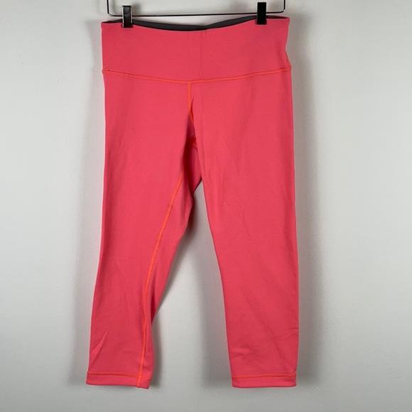 ✨3/$25✨Lululemon Pink/Grey Crop Leggings